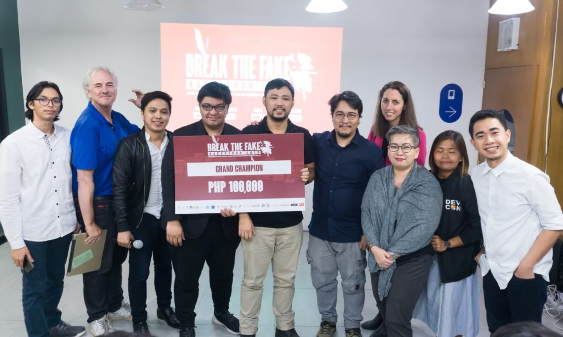 break the fake hackathon 2019