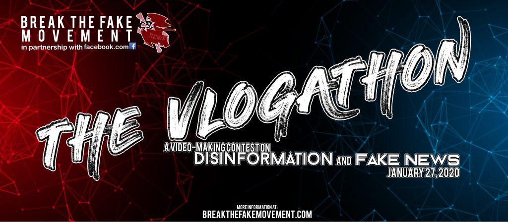 Break the Fake Vlogathon 2020